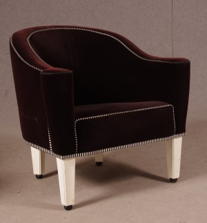josef hoffmann wittmann sofa und zwei sessel 39 villa gallia 39. Black Bedroom Furniture Sets. Home Design Ideas