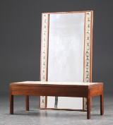 Entresæt: spejl og konsol med fliser fra L. Hjorth (2)