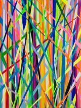 Johanna Hess, 'Swirl', 2016, akryl på lærred