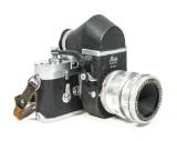 Leica M3, 3 objektiv samt prismasökare