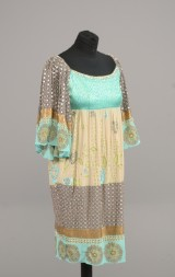 Kavita Bhartia tunika med perler og palietter str. Small