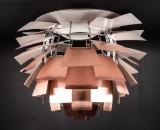 Poul Henningsen. Pendant lamp. PH Artichoke, copper, Ø 84 cm