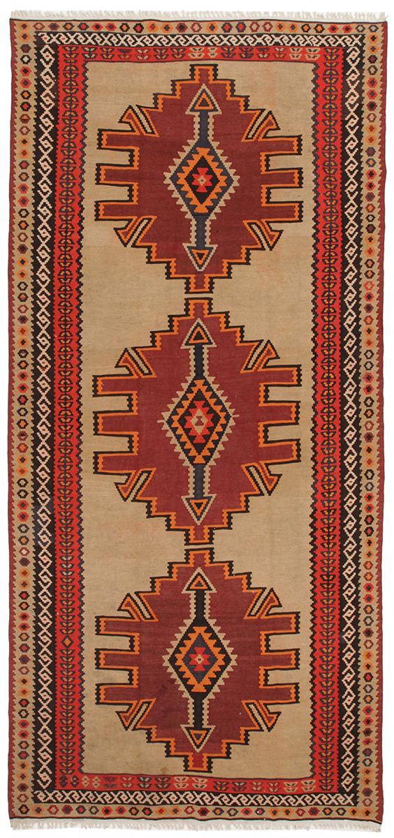 Persisk Ardabil kelim 326 x 156 cm - Persisk Ardabil kelim 326 x 156 cm Håndknyttet uld på bomuld