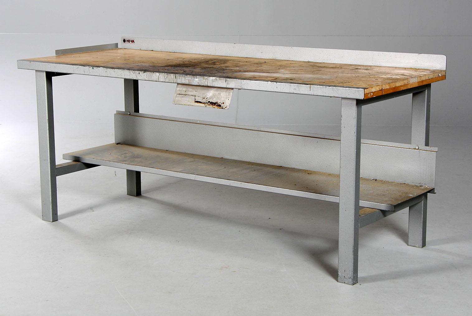 værkstedsbord brugt