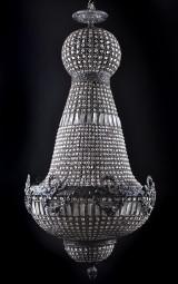 Mycket stor ljuskrona H. 160 cm