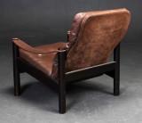Skandinavisk design læder stol