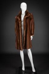 Mink coat, pastel, size 40, Saga Mink, Superb Quality