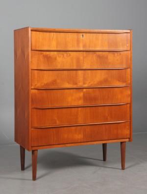 m bel dansk m belproducent teak kommode 1950 erne dk esbjerg oddesundvej. Black Bedroom Furniture Sets. Home Design Ideas