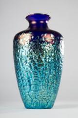 Loetz, tidlig vase, mønster Phänomen Gre 377, omkring 1900