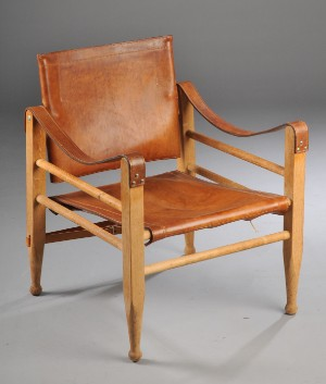 Safaristol af egetr for Designer chairs from the 60s