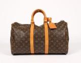 Louis Vuitton, rejsetaske, model Keepall 45