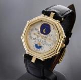 Gerald Genta 'Success'. Men's watch, 18 kt. gold with full calendar
