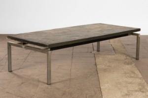 Couchtisch Tisch Beistelltisch Metall Und Schiefer Lauritz Com