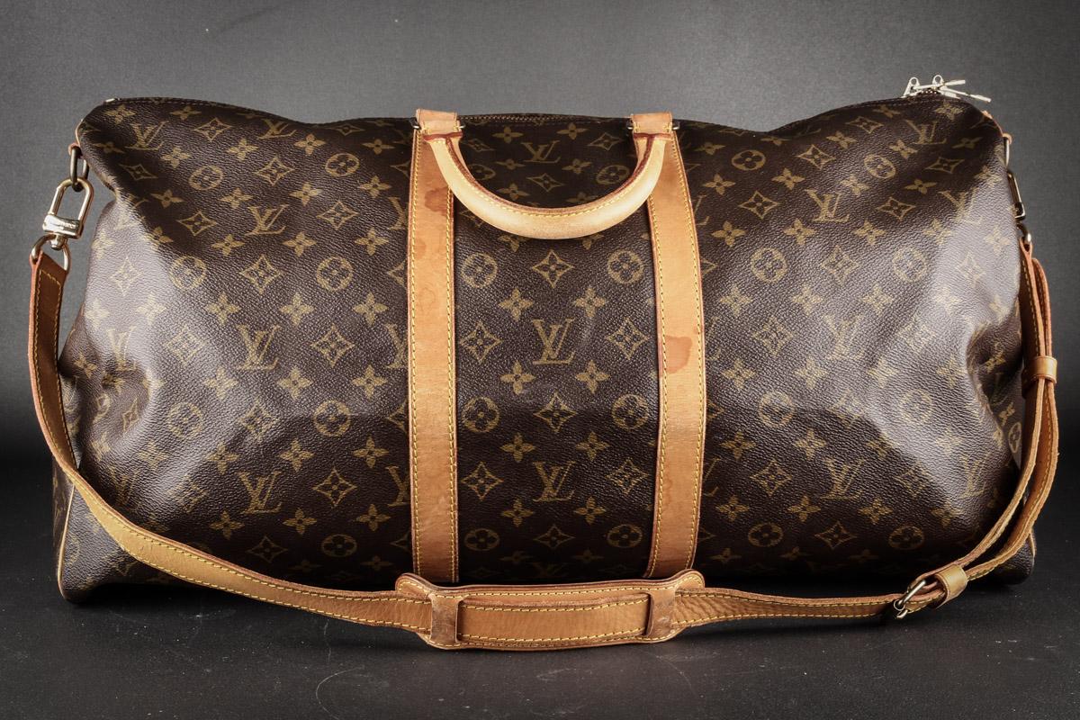 0d06e54bb Louis Vuitton. Weekend / rejsetaske. Monogram canvas. Model Keepall 55.