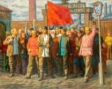 Igor Pavlovich Charmata, Streik der Arbeiter
