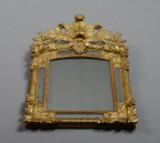Fransk regence spejl, 1700-tallets første halvdel