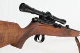 Krico salonriffel - halvautmatisk. Kal. 22 LR. med 10 skuds rørmagasin.