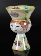 Bjørn Wiinblad, opsats / vase, lertøj