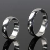 Sæt forlovelses/vielsesringe i sterling sølv
