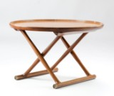 Mogens Lassen, 'Ægypterbordet', Brazilian rosewood
