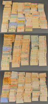 Samling gamle korrespondancekort, brevkort m.m.