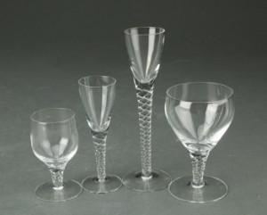 Holmegaard. Twist/Amager glas (37) | Lauritz.com