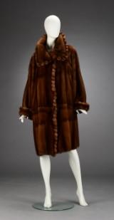 Birger Christensen. Mink coat, size 42/44