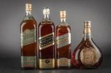 4 flasker Johnnie Walker Whiskey (4)