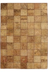 Persisk patchwork, 303x212 cm.