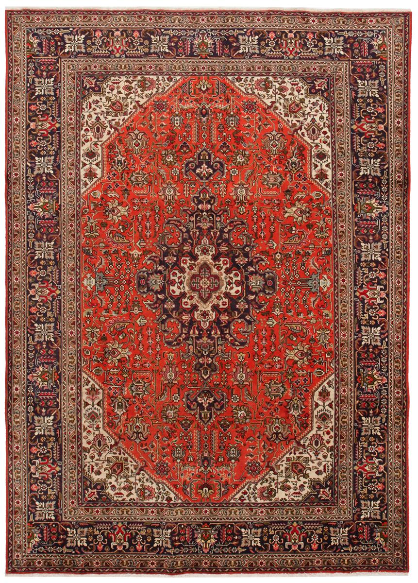 Persisk Tabriz 290 x 200 cm - Persisk Tabriz 290 x 200 cm Håndknyttet uld på bomuld