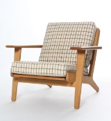 Hans J. Wegner. Lounge chair, model GE290