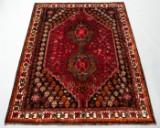 Ghashgai Teppich, Persien, Handgeknüpft, Material: Wolle auf Baumwolle, Maße: ca. 255 x 180 cm.
