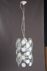 Hanging lamps/chandeliers from the 1960s, likely Vistosi