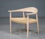 Finn Østergaard, Lænestol med sæde i snoreflet