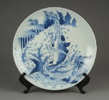 Chinese plate, first-half of 20th century