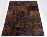 Patchwork tæppe, fremstillet hos Loomier, Tyrkiet, ca. 192 x 249