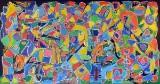 Niels Davernum, Komposition 'Abstrakt Maleri'