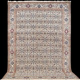 Carpet, Nain, with silk outlines, 6La, 370 x 250