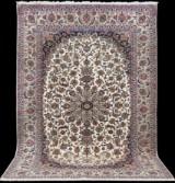 Oriental carpet, Isfahan, 318x205 cm