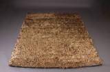 BoConcept håndlavet tæppe, model Cato Gold 200 x 300 cm.