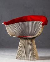 Warren Platner, Wire Chair / Lounge Sessel Modell 1725A für Knoll International