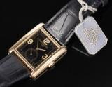 Patek Philippe 'Gondolo'. Men's watch, 18 kt. gold, with original clasp, c. 1990-92