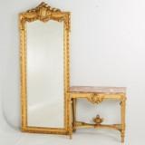 Spegeltrymå gustaviansk stil