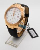 Helveco Constance II armbåndsur, rustfrit stål forgyldt med rosaguld