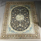 Persian hand-knotted carpet, Kashan, 382x297 cm