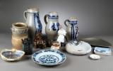 Samling Keramik og figurer mm. (18)
