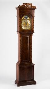 Pieter Loggen standur/stort ur, Amsterdam, midten af 1700-tallet