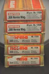 Norma kaliber 308 Norma Magnum riffelpatroner 100 stk