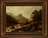 Alexandre Calame. Berglandschaft