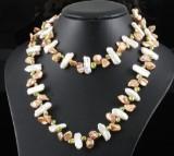 keisha fresh water pearls necklace